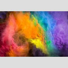 Flash Of Color  Twelve Pounds Of Powdered Paint Got Deliver… Flickr