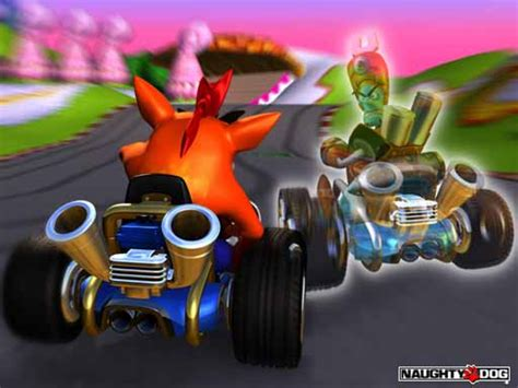 ctr crash team racing promotional images crash mania