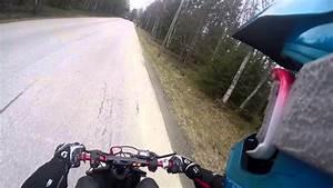 Insane Yamaha Jog R 70cc Test Drive