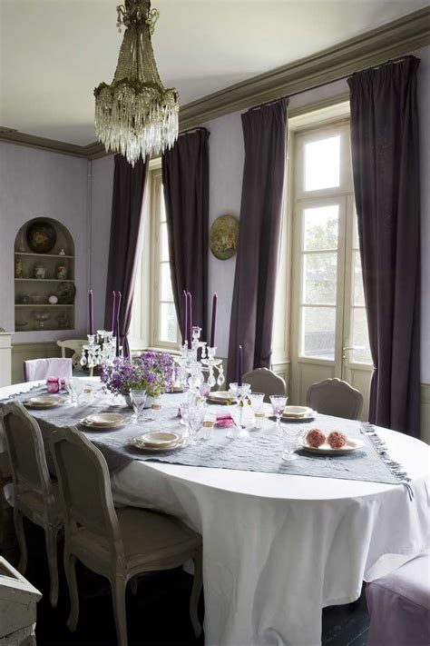 purple dining room ideas the power of purple four walls and a roof