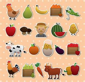 Agriculture icons Free vector in Encapsulated PostScript ...