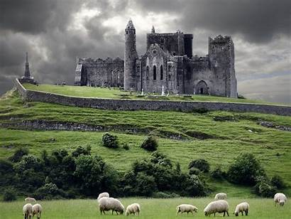 Medieval Nature Castles Castle Wallpapers Wallpaperup Sheep