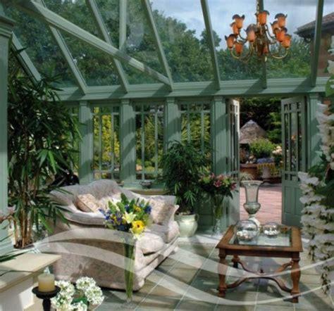 wintergarten design ideen vielfalt von exotischen