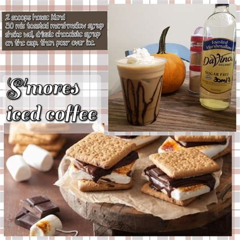 I like mine crispy variation: S'mores iced coffee!!! House blend iced coffee available!! *Click*   Herbalife shake recipes ...