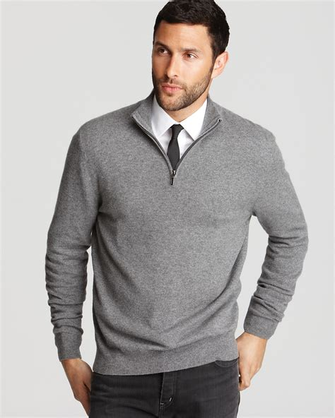 zip sweater mens the 39 s store at bloomingdale 39 s half zip