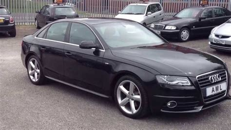 2010 Audi A4 by 2010 Audi A4 2 0 Tdi S Line 143ps Automatic Saloon 4dr