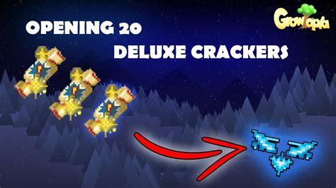 Opening 20 Deluxe Crackers