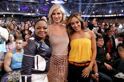 Real Housewives Attend Wrestlemania In New Orleans All