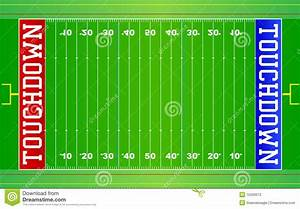 American Football Field NFL EPS Stock Vector ...