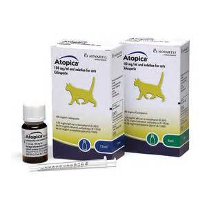 atopica for cats administration dosing atopica uk