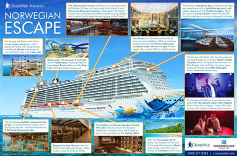 Breakaway Deck Plans Pdf by Escape Cruise Ship 2018 And 2019