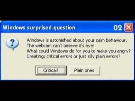 hilarious steve jobs  bill gates  fake windows error messages youtube
