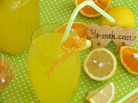 orange lemonade recipe recipes  turkish cuisine