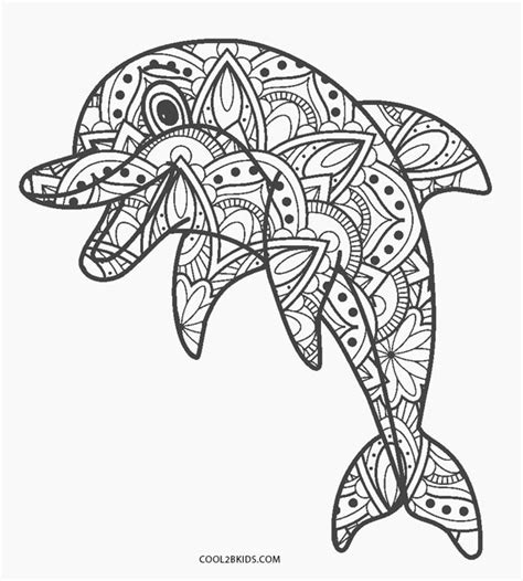 free printable dolphin coloring pages for kids cool2bkids