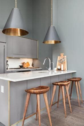 industrial spacious but with trendy glamour copper