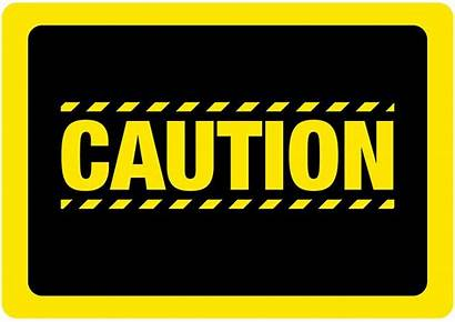 Caution Sign Clipart Yellow Signs Proceed Extra