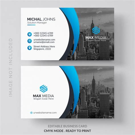 mockup  business card  photo  city  images