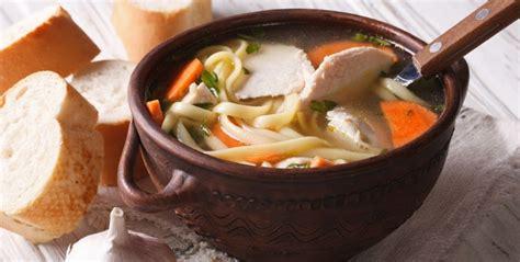 chicken soup serve noodle sides kitchen