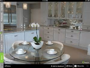 Houzz White Kitchen Backsplash