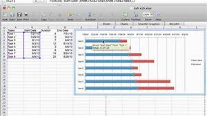 Gantt Chart Tutorial Excel 2007-mac