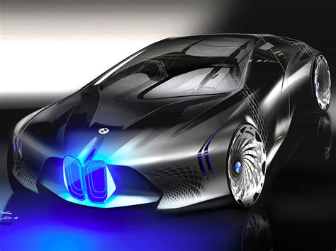 bmw  unveiled  mind blowing vision  cars