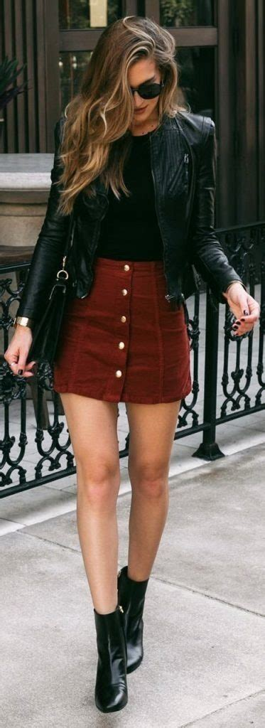 Cool Leather Jacket Outfit Ideas For Women Outfit Ideas Hq