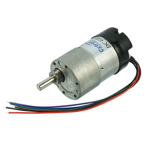 Define Electric Motor by Spg30e 270k Dc Geared Motor With Encoder 12 Rpm 120n Cm