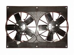 Spal Dual 11 U0026quot  Electric Fan Shroud 30102052 2va06 Ll