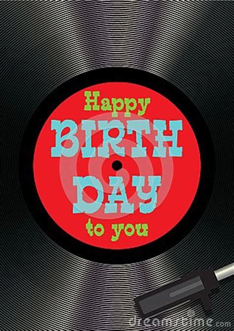 template greeting card happy birthday  vinyl stock