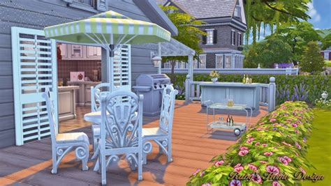 Ruby's Home Design :  Springfield Home • Sims 4 Downloads
