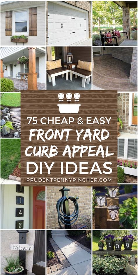 cheap  easy front yard curb appeal ideas prudent