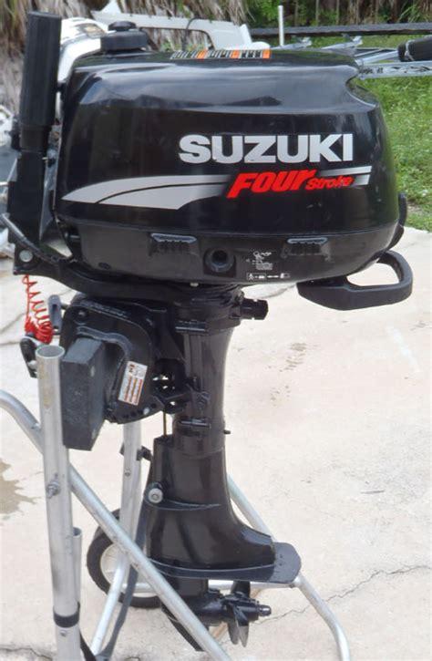 Suzuki 4 Stroke Outboard by Used Suzuki 6 Hp Outboard 4 Stroke Outboard For Sale