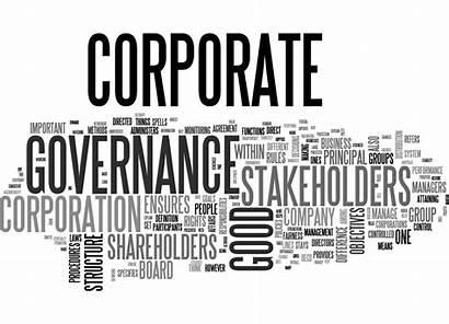 Governance Corporate Word Cloud Concept Similar