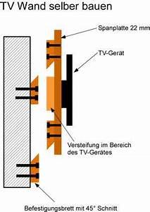 Wand Selber Bauen : tv wandhalterung selber bauen ~ Michelbontemps.com Haus und Dekorationen