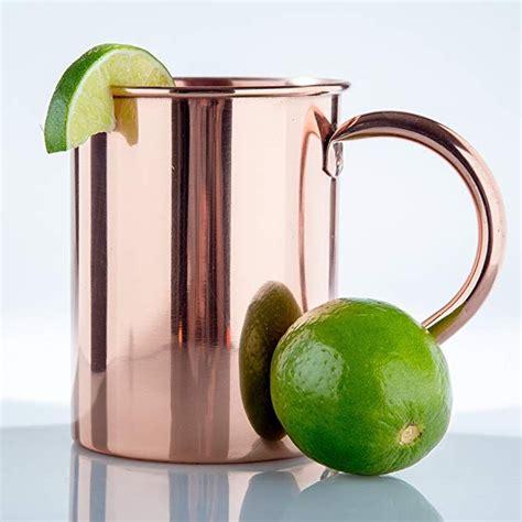 copper mug  moscow mules  oz perfect copper mug   lining copper  percent pure