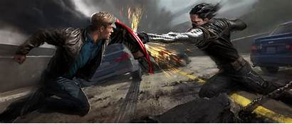 Captain Winter Soldier America Alphacoders Bucky Barnes