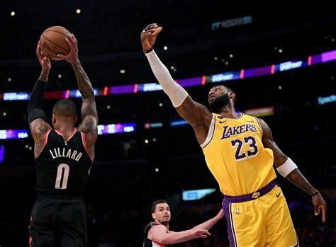 What Channel is Portland Trail Blazers vs LA Lakers on ...