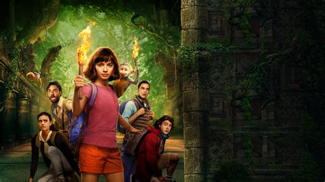 wallpaper dora   lost city  gold poster