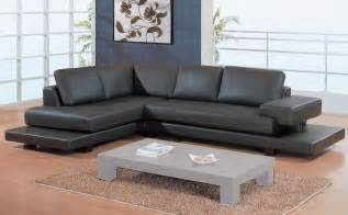 Sofa Mart by Gl 2 Piece Sectional Brown Leather Match Sectionals