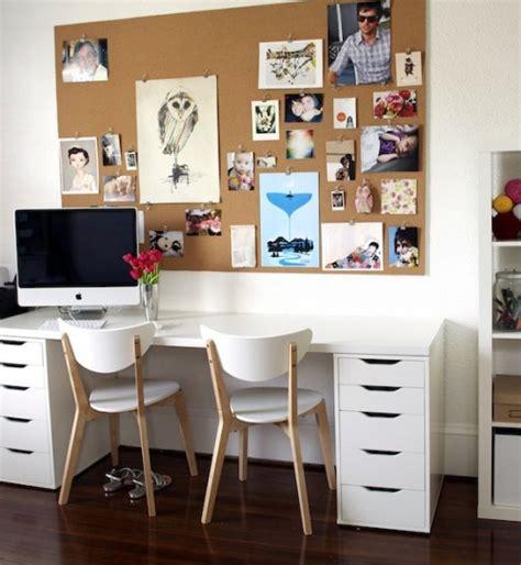 bureau deco bureau ikea bureaux creatifs et inspirants