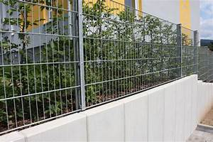 Mauer Aus Betonfertigteilen : gemibau b rengasse gartenbau lang gmbh ~ Markanthonyermac.com Haus und Dekorationen