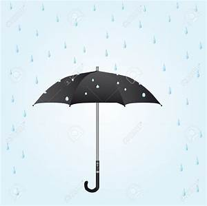 Umbrella With Raindrops Clipart (65+)