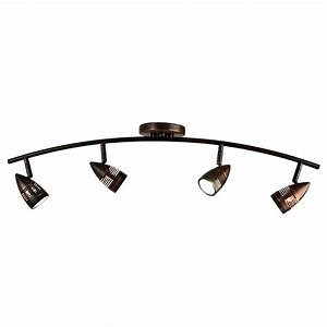 Ideas for bronze track lighting design