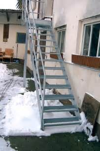 treppe verzinkt treppen aus edelstahl für den außenbereich in königsberg