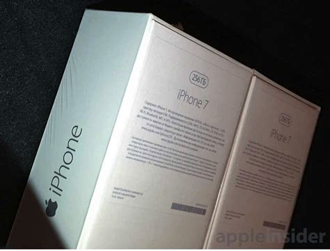 photo  alleged apple iphone  box shows gb model