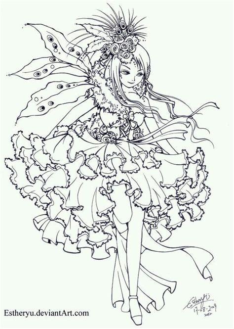 Fairy 2 Fairy coloring pages Fairy coloring Fairy drawings