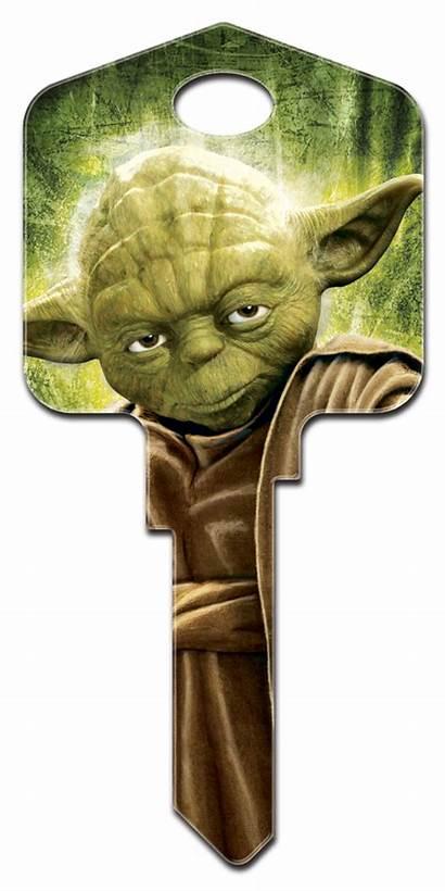 Yoda Star Wars Key Keys Sw2 Blank