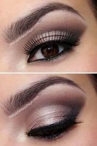 Maquillage Pour Yeux Marron : make up maquillage yeux marrons ~ Carolinahurricanesstore.com Idées de Décoration