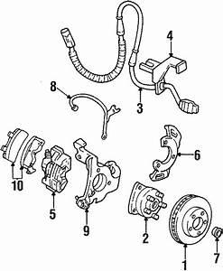 Buick Park Avenue Disc Brake Pad Set  Pads  Suspension