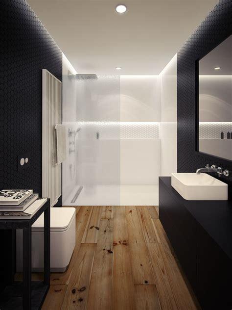 banos en blanco  negro decoracion hogar decoraliaes